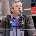 Jürgen Hennemann auf der Arena-Veranstaltung der IG Metall